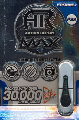 PS2 Action replay max EVO 32 mb - DATEL