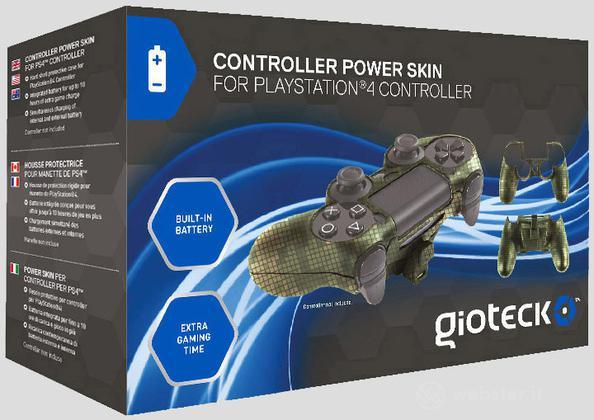 GIOTECK Controller Power Skin PS4