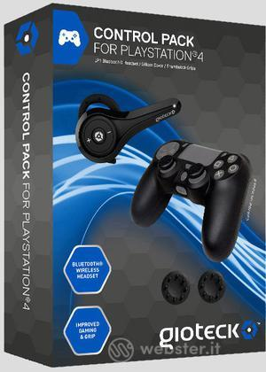 GIOTECK Control Pack PS4