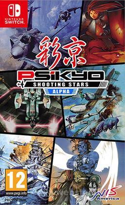 Psikyo Shooting Stars Alpha Limited Ed.