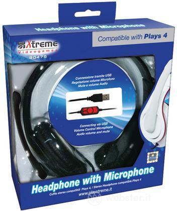 Cuffie con microfono PS4