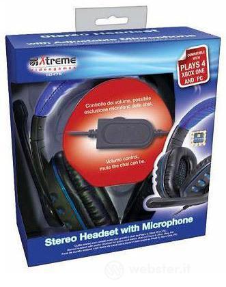 Cuffie con Microfono 2,0  PS4/XONE/PC