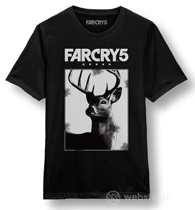 T-Shirt Far Cry 5 Cervo L