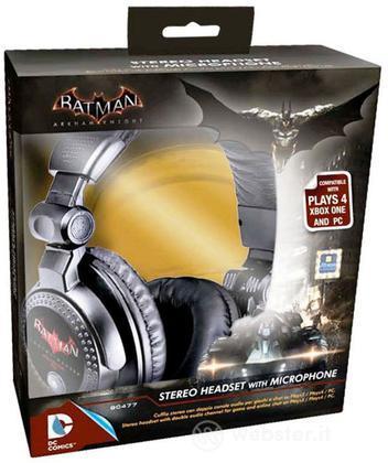 Cuffia Batman Arkham Knight + microfono