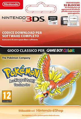 Pokemon Gold Version Italian