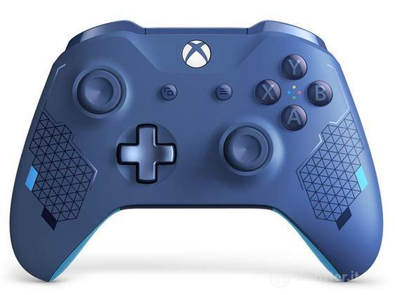 MS XONE Controller Wireless Sport Blu