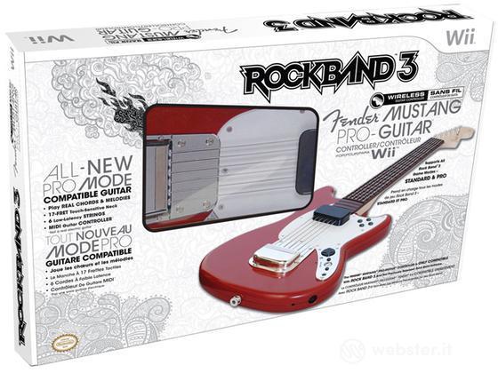 MAD CATZ WII Wrlss Guitar Rock Band 3