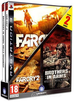 Compil bipack Far Cry 2+Brother in Arms