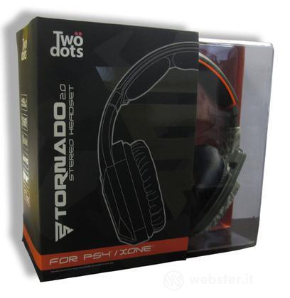 TWO DOTS Cuffie Tornado 2.0 Camo PS4
