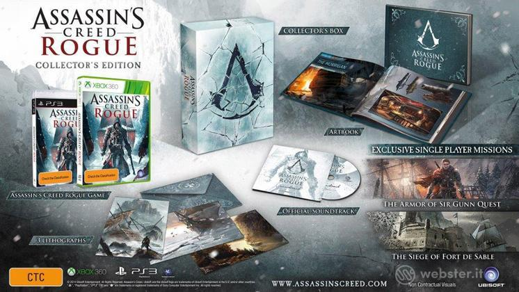Assassin's Creed Rogue Collector's Ed.