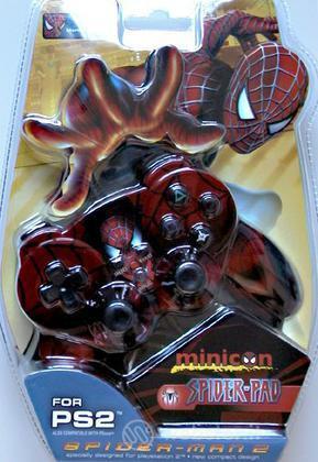 PS2 Joypad Mini Dual Shock Spider-man 2