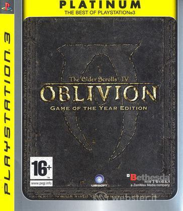 Oblivion: Game Of The Year PLT