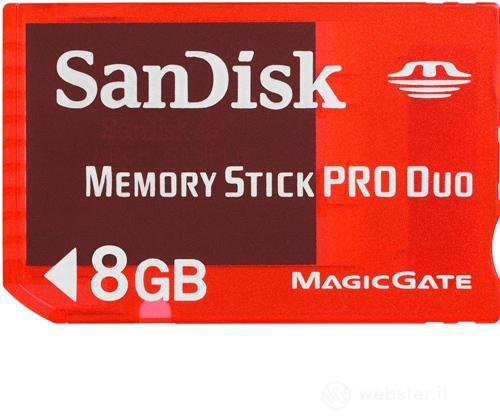 Sandisk Memory Stick Pro Duo Gaming 8GB