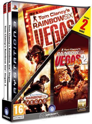 Compil bipack Rainbow Six Vegas 1+2