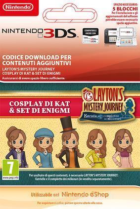 Lady Layton: Kat's Cosplay & Puzzles Set
