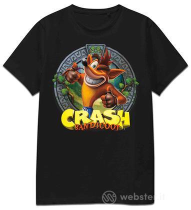T-Shirt Crash Logo Tee M