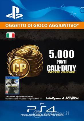 5000 Punti COD: Infinite Warfare