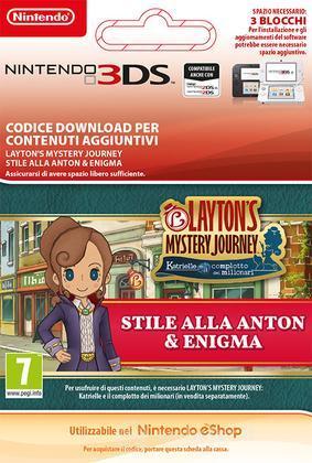 Lady Layton: Anton-ish Attire & Puzzle