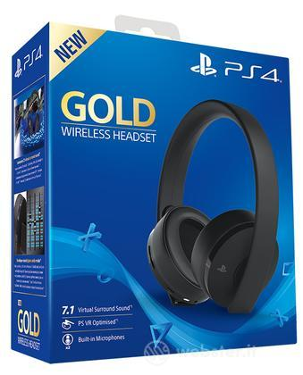 SONY Gold Wireless Headset
