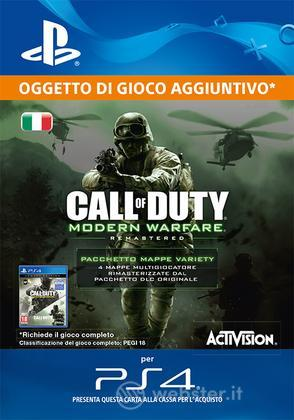 Pack Mappe COD: Modern Warfare Remast.