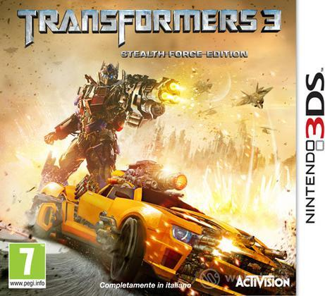 Transformers 3 3D stealth force edition