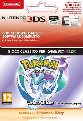 Pokemon Crystal Edition Italian