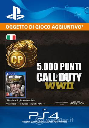 5000 punti Call of Duty: WWII