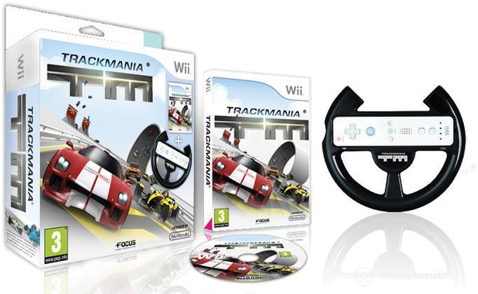 Trackmania + Volante HX