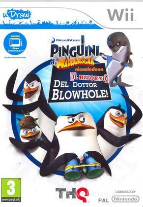I Pinguini di Madagascar - uDraw
