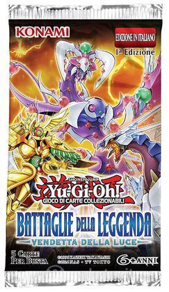 Yu-Gi-Oh! Battaglie della Leggenda Busta