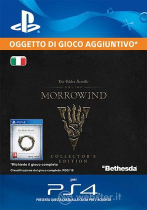 TES Online: Morrowind Collectors Ed. Up.