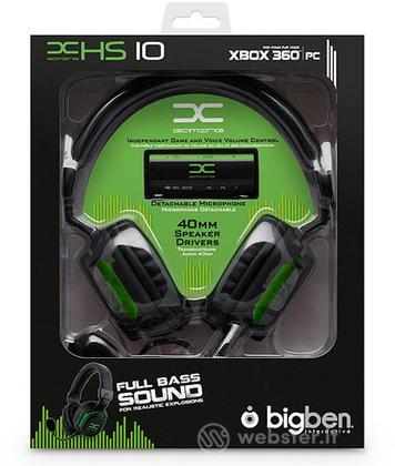 X360 Cuffia Gaming Headset+Mic Hs10 Bigb