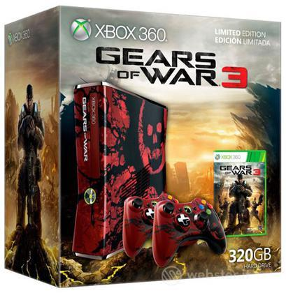 XBOX 360 320GB Gears of War 3-Limited Ed