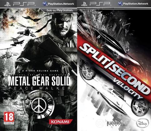 Metal Gear Solid Peace Walker+Split Sec