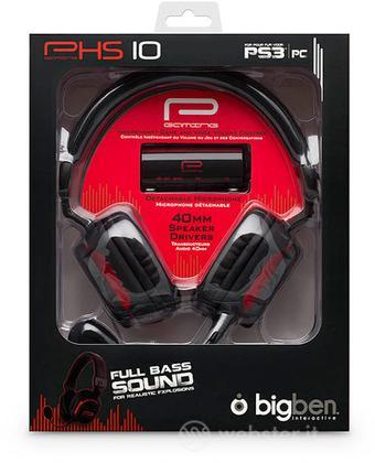 BB Cuffie Gaming + Microfono Hs10 PS3