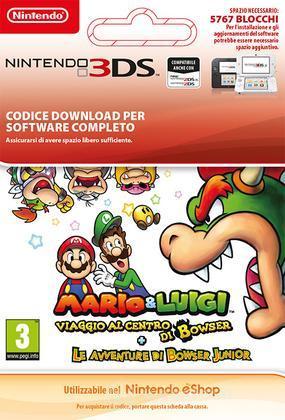 Mario&Luigi Bowser InsideJr