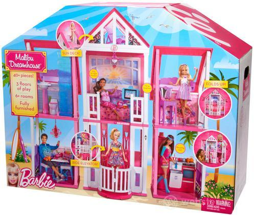 Barbie casa di malibu bambole e accessori videogame for Casa di malibu di barbie
