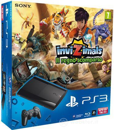 Playstation 3 12GB+Invizimals:Regno Scom