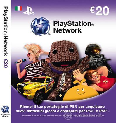 PS3 PSP Cards PSN Sony 20 Euro