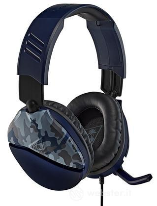 TURTLEBEACH Cuffie Recon 70P Blue Camo