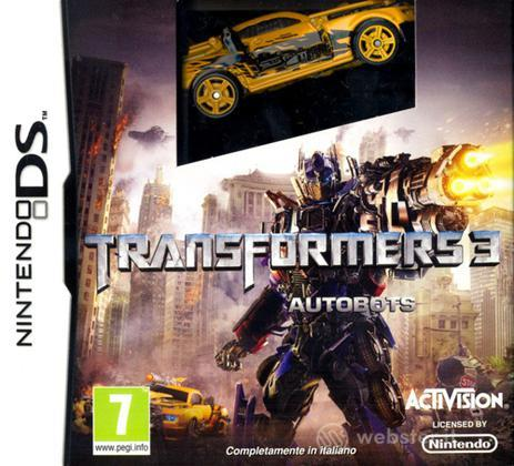 Transformers 3 versione Autobots -bundle