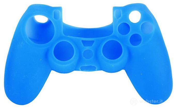 Protezione in Silicone Ctrl PS4 Blu