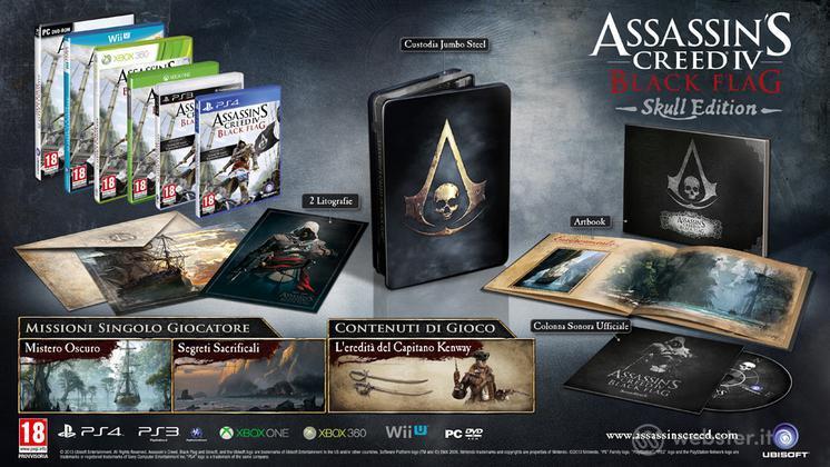 Assassin's Creed 4 Black Flag Coll. Ed.