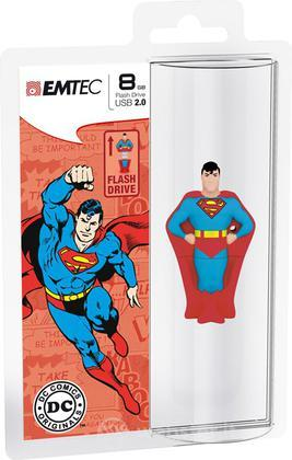 EMTEC USB Key 8GB DC COMICS Superman 3D