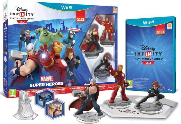 Disney Infinity 2 Marvel SH Starter Pack