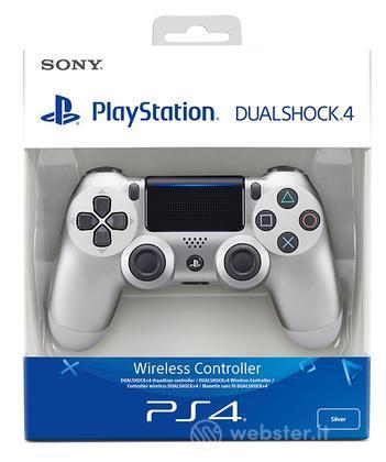 Sony Ctrl Dualshock 4 V2 Silver PS4
