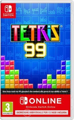 Tetris99 + Nintendo Switch Online 12mesi