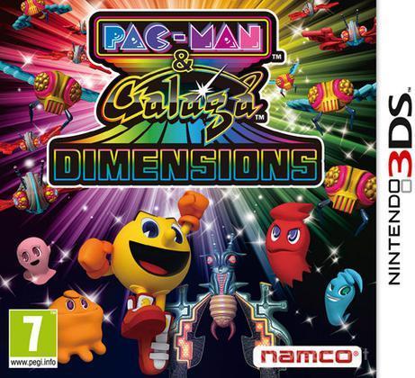 Pac-Man & Galaga Dimensions 3D