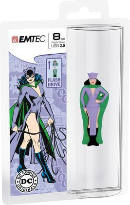 EMTEC USB Key 8GB DC COMICS Catwoman 3D