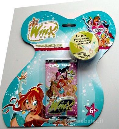 Winx box 6 buste blister + 6 anelli Winx